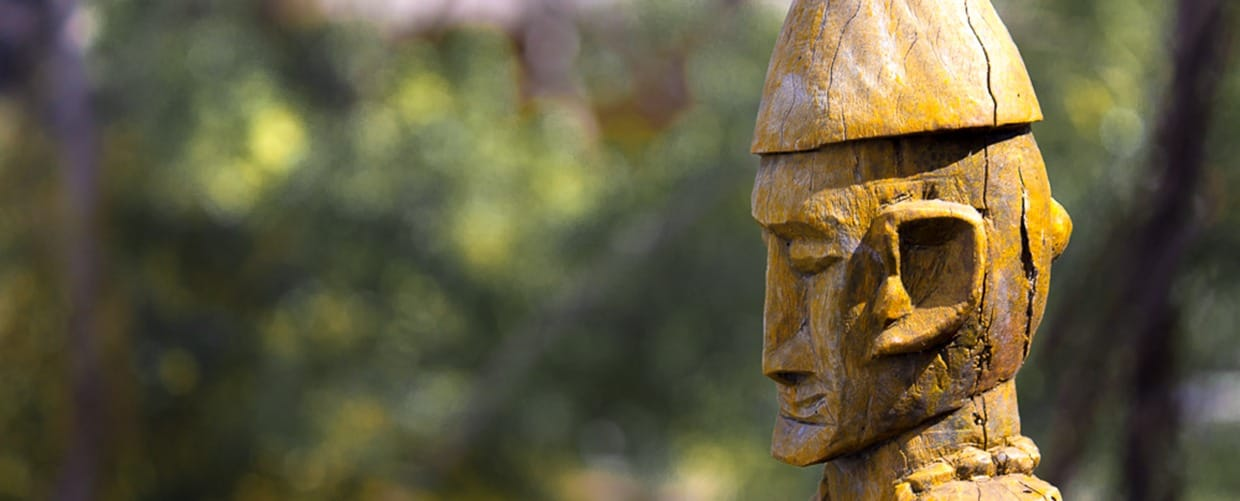 Timor-Leste: Head, Art, Sculpture, Emblem, Face, Human, Person, Birch, Flora, Plant, Tree