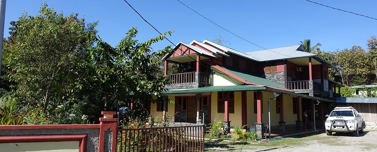 Timor-Leste: Building, Cottage, House, Housing, Flora, Jar, Plant, Potted Plant, Pottery, Vase, Neighborhood, Urban, Villa, Fence, Hedge, Countryside, Hut, Nature, Outdoors, Rural, Shack, Shelter, Tree, Conifer, Yew, City, Town, Oak, Sycamore