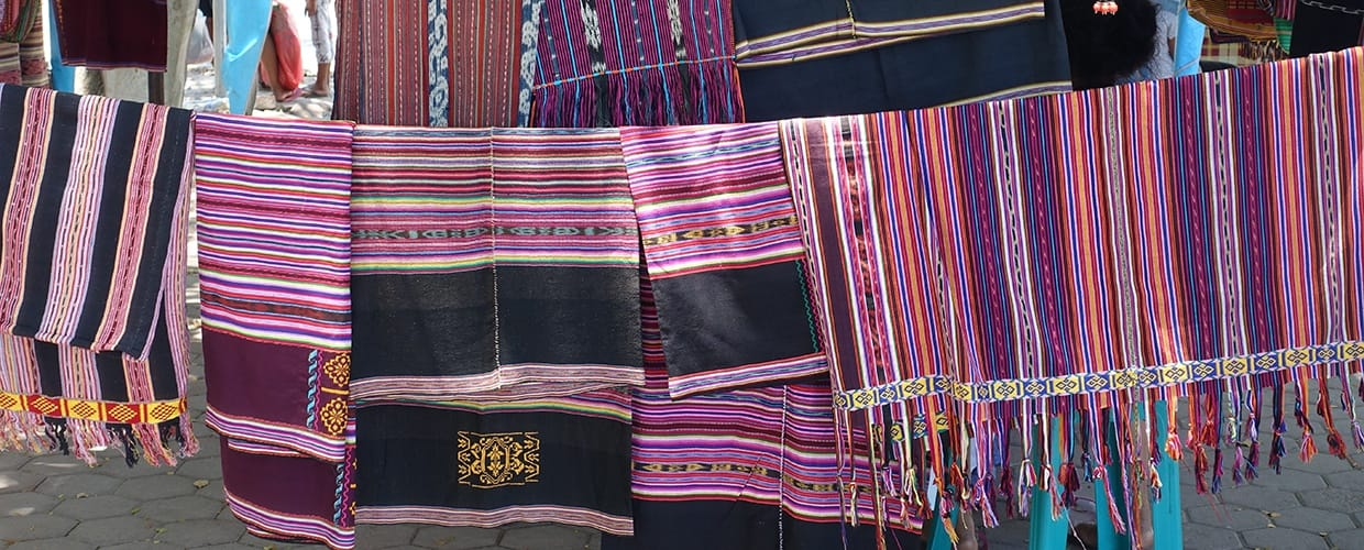 Timor-Leste: Woven, Blanket, Home Decor, Cushion