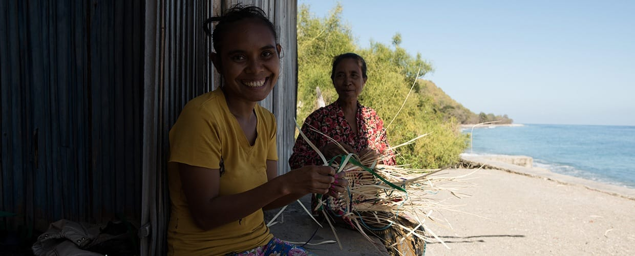 Timor-Leste: Human, People, Person, Face, Portrait, Smile, Nature, Ocean, Outdoors, Sea, Water, Leisure Activities, Female, Building, Hotel, Resort